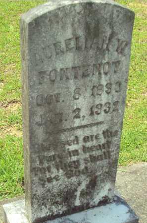 FONTENOT, AURELIAN W - Evangeline County, Louisiana | AURELIAN W FONTENOT - Louisiana Gravestone Photos