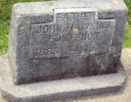 FONTENOT, JOHN HAWKINS - Evangeline County, Louisiana | JOHN HAWKINS FONTENOT - Louisiana Gravestone Photos