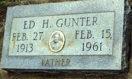 GUNTER, ED H - Evangeline County, Louisiana   ED H GUNTER - Louisiana Gravestone Photos
