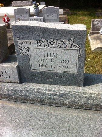 THIBODEAUX POWERS, LILLIAN (CLOSEUP) - Evangeline County, Louisiana | LILLIAN (CLOSEUP) THIBODEAUX POWERS - Louisiana Gravestone Photos