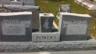 "POWERS, WILLIAM ""WILLIE"" - Evangeline County, Louisiana | WILLIAM ""WILLIE"" POWERS - Louisiana Gravestone Photos"