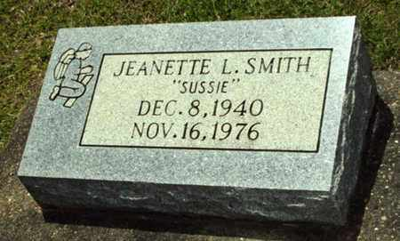 """SMITH, JEANETTE L """"SUSSIE"""" - Evangeline County, Louisiana   JEANETTE L """"SUSSIE"""" SMITH - Louisiana Gravestone Photos"""