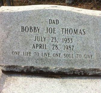 THOMAS, BOBBY JOE - Evangeline County, Louisiana | BOBBY JOE THOMAS - Louisiana Gravestone Photos