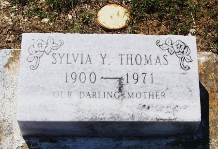 THOMAS, SYLVIA Y - Evangeline County, Louisiana | SYLVIA Y THOMAS - Louisiana Gravestone Photos