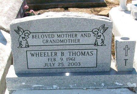 THOMAS, WHEELER B - Evangeline County, Louisiana   WHEELER B THOMAS - Louisiana Gravestone Photos