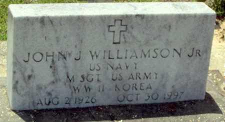 WILLIAMSON, JOHN J, JR (VETERAN 2 WARS) - Evangeline County, Louisiana | JOHN J, JR (VETERAN 2 WARS) WILLIAMSON - Louisiana Gravestone Photos