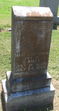 HAWTHORNE ABELL, MARY J - Franklin County, Louisiana | MARY J HAWTHORNE ABELL - Louisiana Gravestone Photos