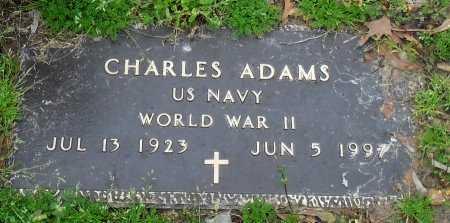 ADAMS , CHARLES (VETERAN WWII) - Franklin County, Louisiana | CHARLES (VETERAN WWII) ADAMS  - Louisiana Gravestone Photos
