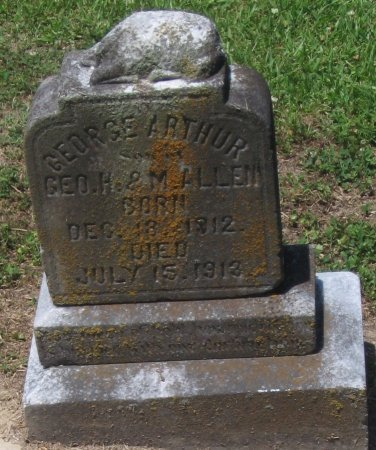 ALLEN, GEORGE ARTHUR - Franklin County, Louisiana | GEORGE ARTHUR ALLEN - Louisiana Gravestone Photos