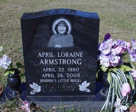 ARMSTRONG, APRIL LORAINE - Franklin County, Louisiana   APRIL LORAINE ARMSTRONG - Louisiana Gravestone Photos