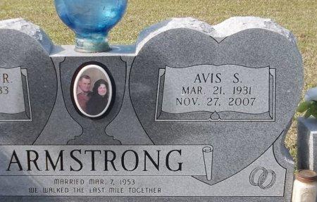 ARMSTRONG, AVIS S (CLOSE UP) - Franklin County, Louisiana | AVIS S (CLOSE UP) ARMSTRONG - Louisiana Gravestone Photos