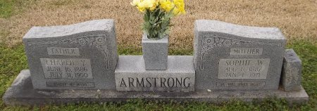 ARMSTRONG, SOPHIE W - Franklin County, Louisiana | SOPHIE W ARMSTRONG - Louisiana Gravestone Photos