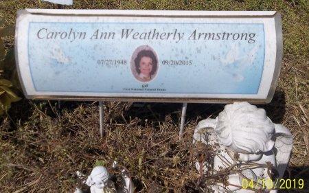ARMSTRONG, CAROLYN ANN - Franklin County, Louisiana   CAROLYN ANN ARMSTRONG - Louisiana Gravestone Photos