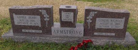 ARMSTRONG, GENEVA - Franklin County, Louisiana | GENEVA ARMSTRONG - Louisiana Gravestone Photos