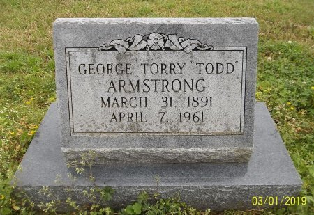 """ARMSTRONG, GEORGE TORRY """"TODD"""" - Franklin County, Louisiana 