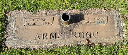 ARMSTRONG, SIBYL - Franklin County, Louisiana | SIBYL ARMSTRONG - Louisiana Gravestone Photos