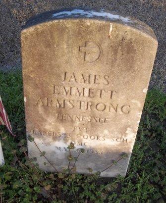 ARMSTRONG  , JAMES EMMETT (VETERAN) - Franklin County, Louisiana | JAMES EMMETT (VETERAN) ARMSTRONG   - Louisiana Gravestone Photos
