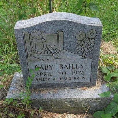 BAILEY, BABY - Franklin County, Louisiana   BABY BAILEY - Louisiana Gravestone Photos