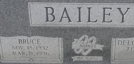 BAILEY, BRUCE (CLOSE UP) - Franklin County, Louisiana   BRUCE (CLOSE UP) BAILEY - Louisiana Gravestone Photos