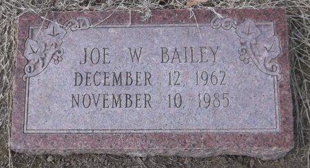 BAILEY, JOE W - Franklin County, Louisiana   JOE W BAILEY - Louisiana Gravestone Photos