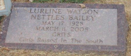 BAILEY, LURLINE - Franklin County, Louisiana | LURLINE BAILEY - Louisiana Gravestone Photos