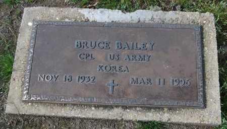 BAILEY  , BRUCE (VETERAN KOR) - Franklin County, Louisiana   BRUCE (VETERAN KOR) BAILEY   - Louisiana Gravestone Photos