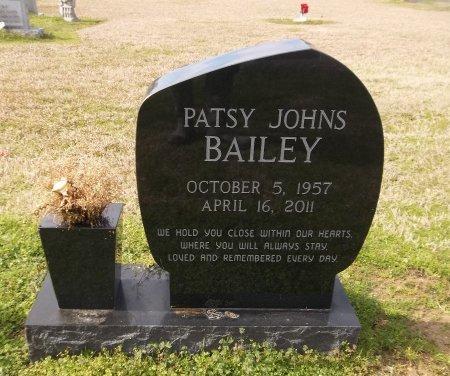 BAILEY, PATSY - Franklin County, Louisiana | PATSY BAILEY - Louisiana Gravestone Photos