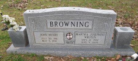 BROWNING, JOHN HENRY - Franklin County, Louisiana | JOHN HENRY BROWNING - Louisiana Gravestone Photos