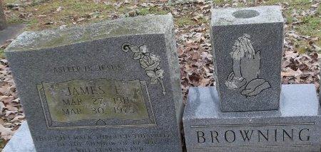 BROWNING, JAMES E (CLOSE UP) - Franklin County, Louisiana | JAMES E (CLOSE UP) BROWNING - Louisiana Gravestone Photos