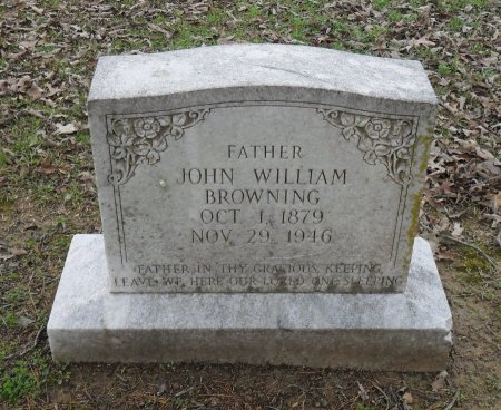 BROWNING, JOHN WILLIAM - Franklin County, Louisiana | JOHN WILLIAM BROWNING - Louisiana Gravestone Photos