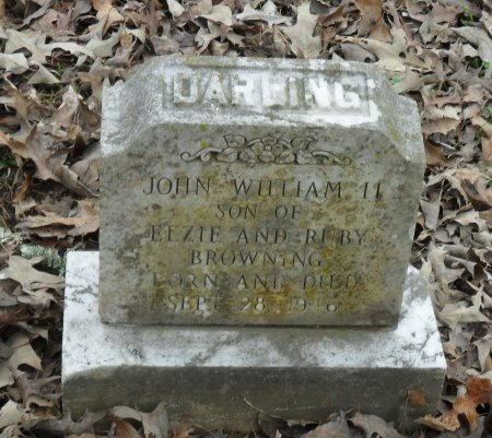 BROWNING, JOHN WILLIAM II - Franklin County, Louisiana | JOHN WILLIAM II BROWNING - Louisiana Gravestone Photos