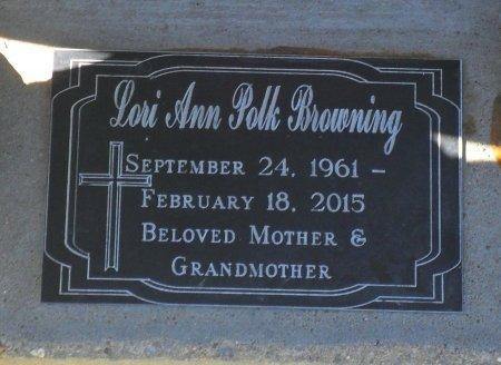 BROWNING, LORI ANN (CLOSE UP) - Franklin County, Louisiana | LORI ANN (CLOSE UP) BROWNING - Louisiana Gravestone Photos