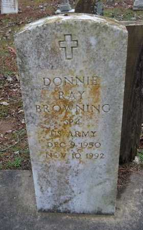 BROWNING  , DONNIE RAY (VETERAN) - Franklin County, Louisiana | DONNIE RAY (VETERAN) BROWNING   - Louisiana Gravestone Photos