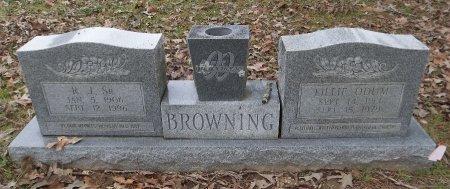 BROWNING, LILLIE - Franklin County, Louisiana   LILLIE BROWNING - Louisiana Gravestone Photos