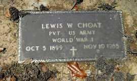 CHOATE, LEWIS WASHINGTON (VETERANWWI) - Franklin County, Louisiana | LEWIS WASHINGTON (VETERANWWI) CHOATE - Louisiana Gravestone Photos