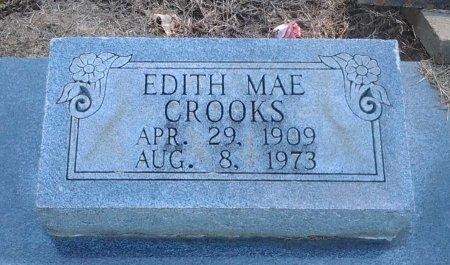 CROOKS, EDITH MAE (CLOSE UP) - Franklin County, Louisiana | EDITH MAE (CLOSE UP) CROOKS - Louisiana Gravestone Photos
