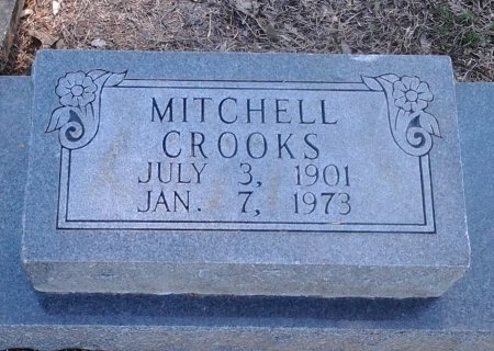CROOKS, MITCHELL (CLOSE UP) - Franklin County, Louisiana | MITCHELL (CLOSE UP) CROOKS - Louisiana Gravestone Photos