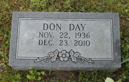 DAY, DON - Franklin County, Louisiana   DON DAY - Louisiana Gravestone Photos