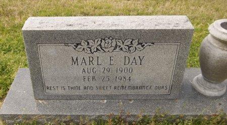 DAY, MARL E (CLOSE UP) - Franklin County, Louisiana   MARL E (CLOSE UP) DAY - Louisiana Gravestone Photos