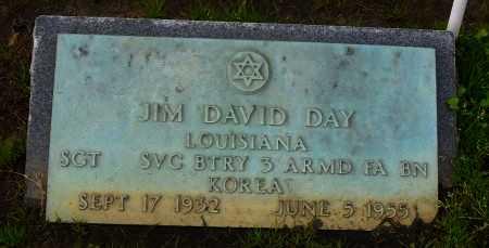 DAY , JIM DAVID (VETERAN  KOR) - Franklin County, Louisiana | JIM DAVID (VETERAN  KOR) DAY  - Louisiana Gravestone Photos