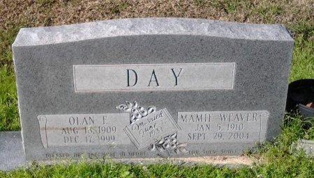 WEAVER DAY, MAMIE - Franklin County, Louisiana | MAMIE WEAVER DAY - Louisiana Gravestone Photos