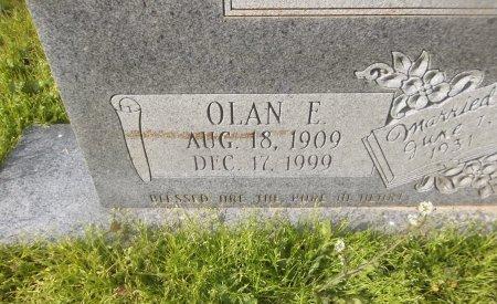 DAY, OLAN E (CLOSE UP) - Franklin County, Louisiana   OLAN E (CLOSE UP) DAY - Louisiana Gravestone Photos