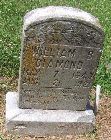 DIAMOND, WILLIAM B - Franklin County, Louisiana | WILLIAM B DIAMOND - Louisiana Gravestone Photos