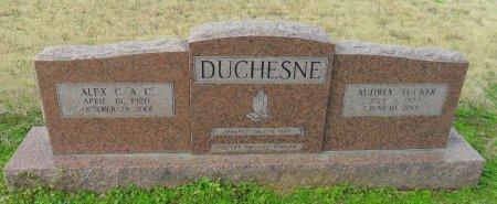 DUCHESNE, AUDREY - Franklin County, Louisiana | AUDREY DUCHESNE - Louisiana Gravestone Photos