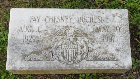 DUCHESNE, FAY CHESNEY - Franklin County, Louisiana | FAY CHESNEY DUCHESNE - Louisiana Gravestone Photos