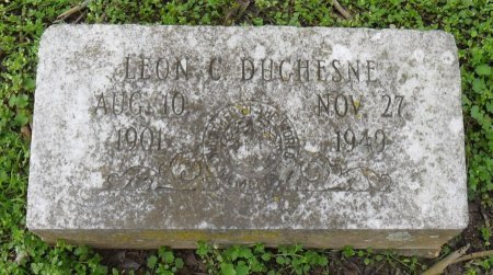 DUCHESNE, LEON C - Franklin County, Louisiana | LEON C DUCHESNE - Louisiana Gravestone Photos