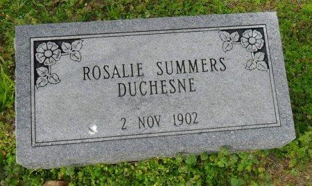 DUCHESNE, ROSALIE - Franklin County, Louisiana   ROSALIE DUCHESNE - Louisiana Gravestone Photos