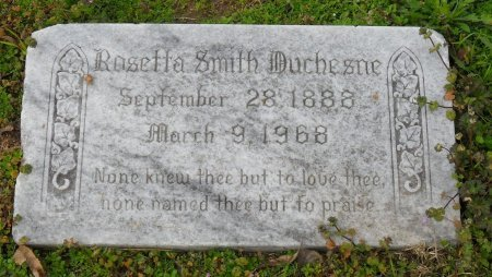 DUCHESNE, ROSETTA - Franklin County, Louisiana | ROSETTA DUCHESNE - Louisiana Gravestone Photos
