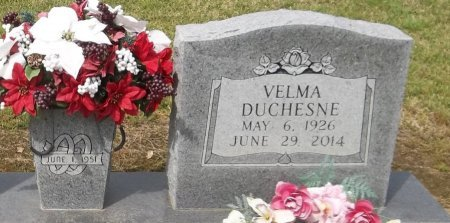 DUCHESNE, VELMA (CLOSE UP) - Franklin County, Louisiana | VELMA (CLOSE UP) DUCHESNE - Louisiana Gravestone Photos