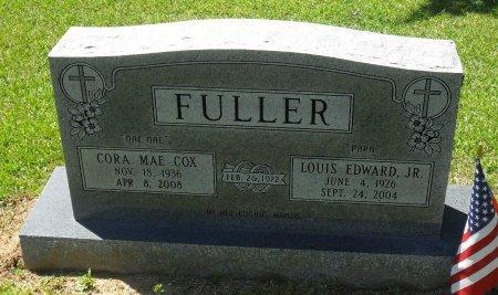FULLER, CORA MAE - Franklin County, Louisiana | CORA MAE FULLER - Louisiana Gravestone Photos